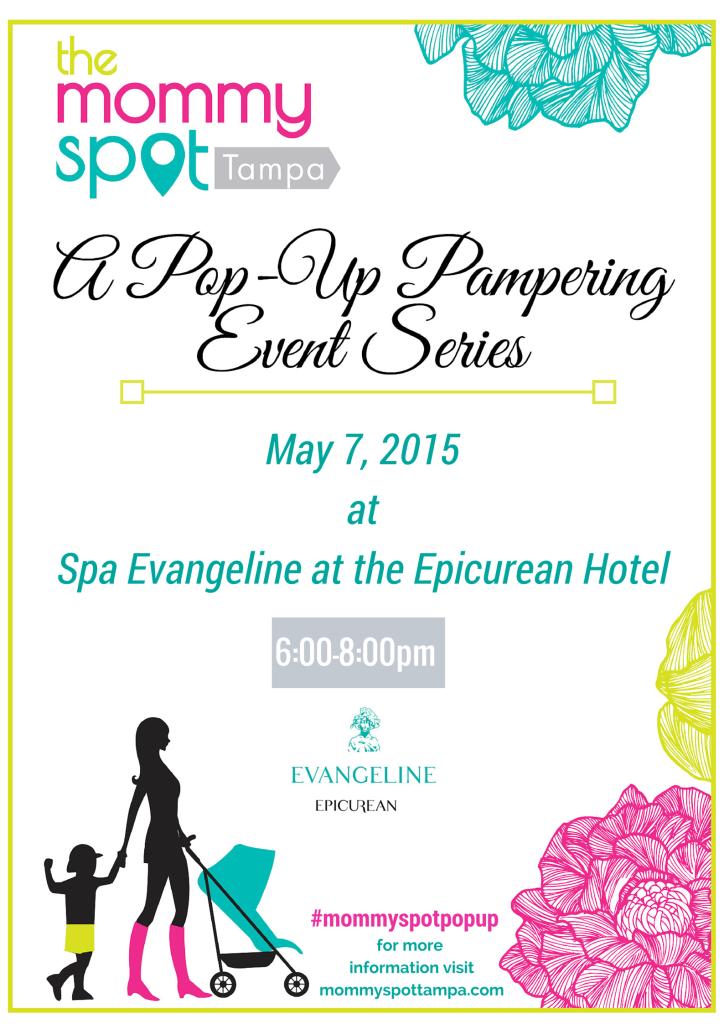 Spa Evangeline Pop-Up Pampering